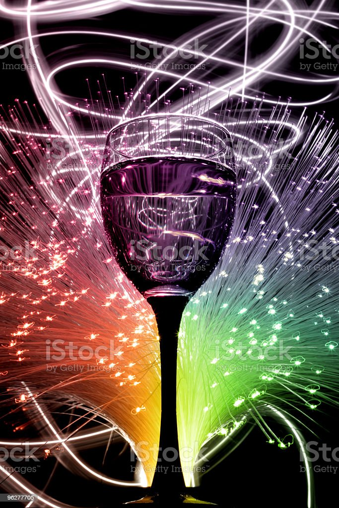 Festa in vetro - Foto stock royalty-free di Alchol