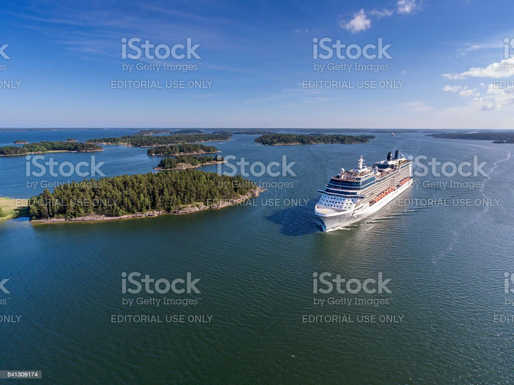 Celebrity Silhouette Cruiser Ship stock photo