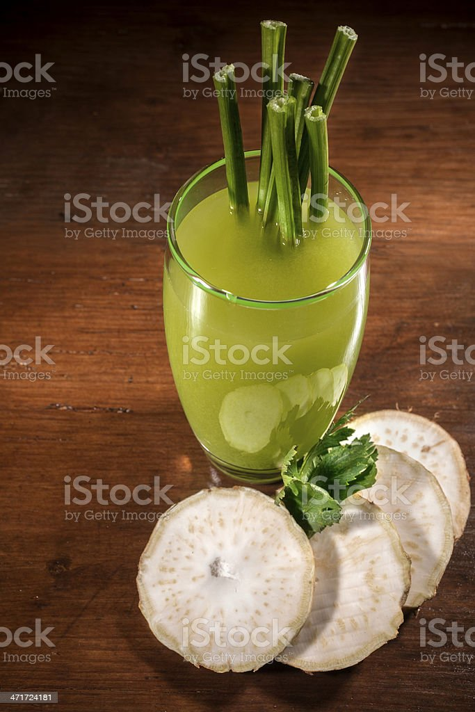 celery juice royalty-free stock photo