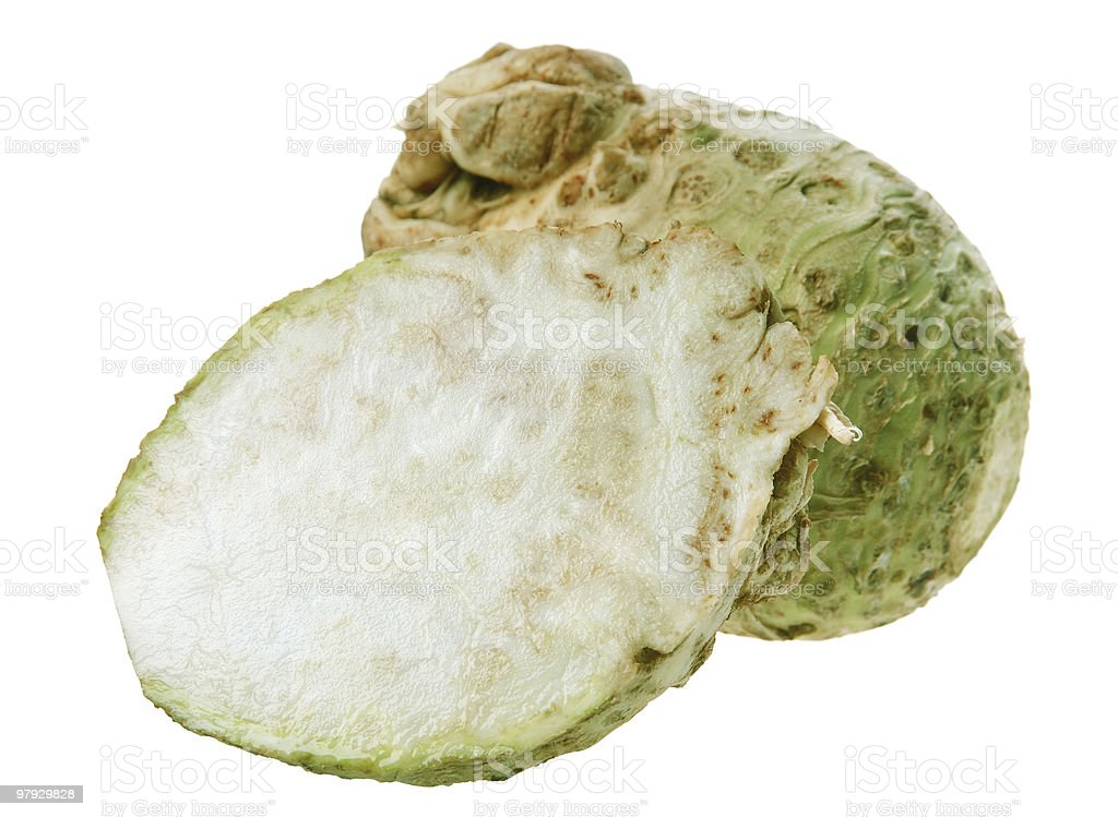 Celery root royalty-free stock photo