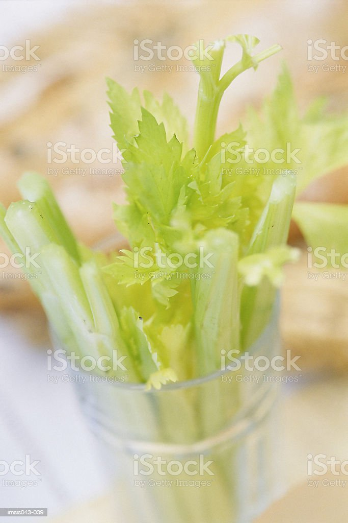 Apio stalks foto de stock libre de derechos