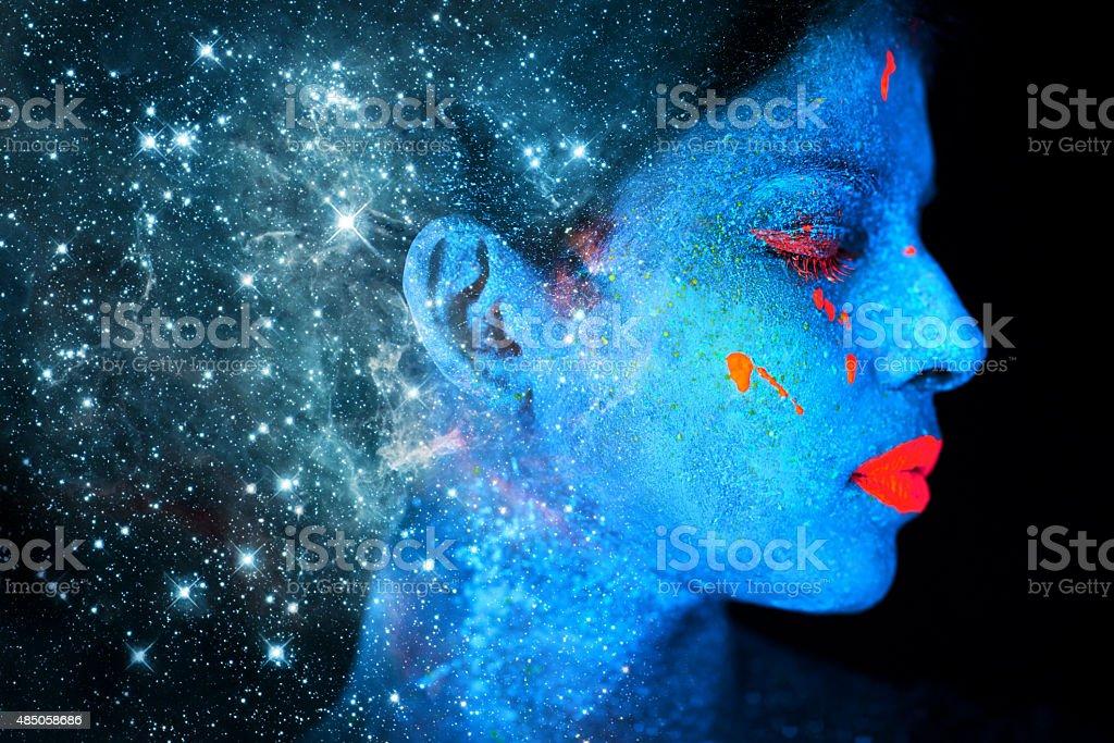 Celestial beauty stock photo