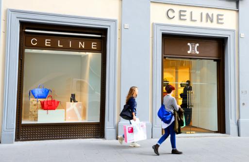 Celine Haute Couture Window Display