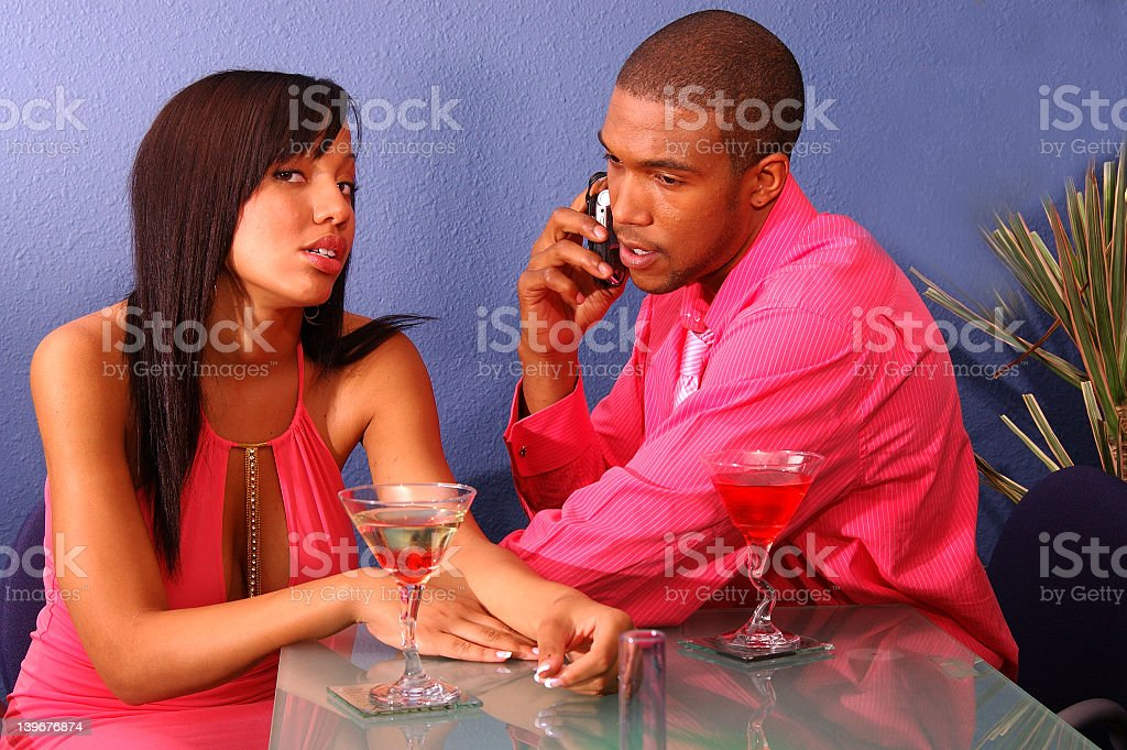 Cell Phone Blues royalty-free stock photo