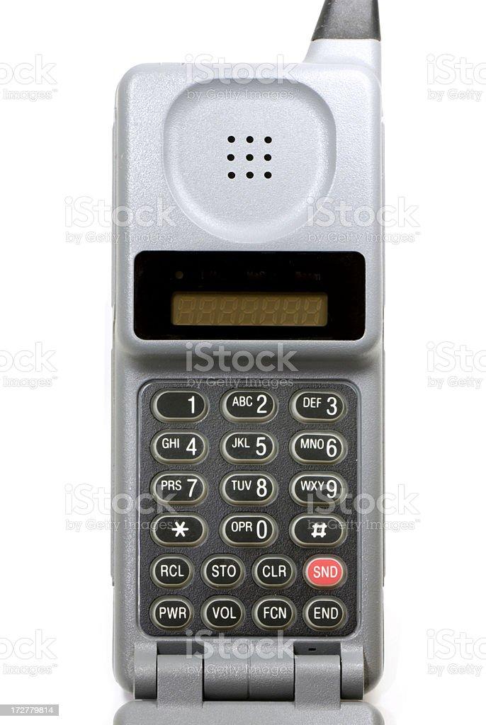 Cell Phone Keypad Circa 1995 stock photo