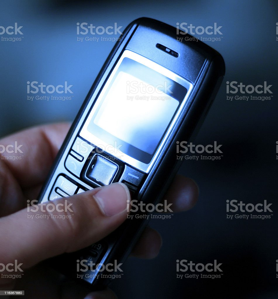 Cell Phone Technology royalty-free stock photo