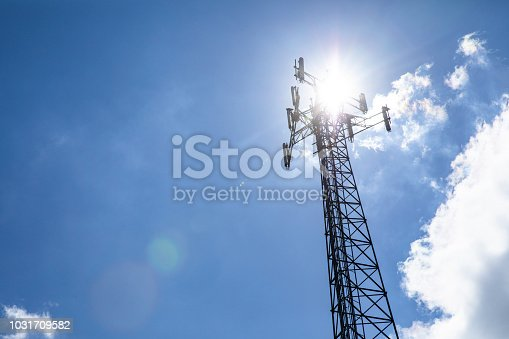 istock Cell phone tower 1031709582