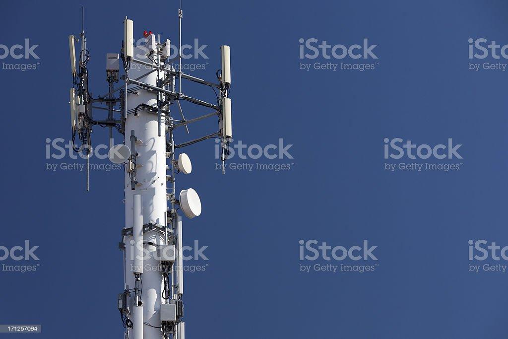 Telefono cellulare Torre - Foto stock royalty-free di Antenna - Attrezzatura per le telecomunicazioni