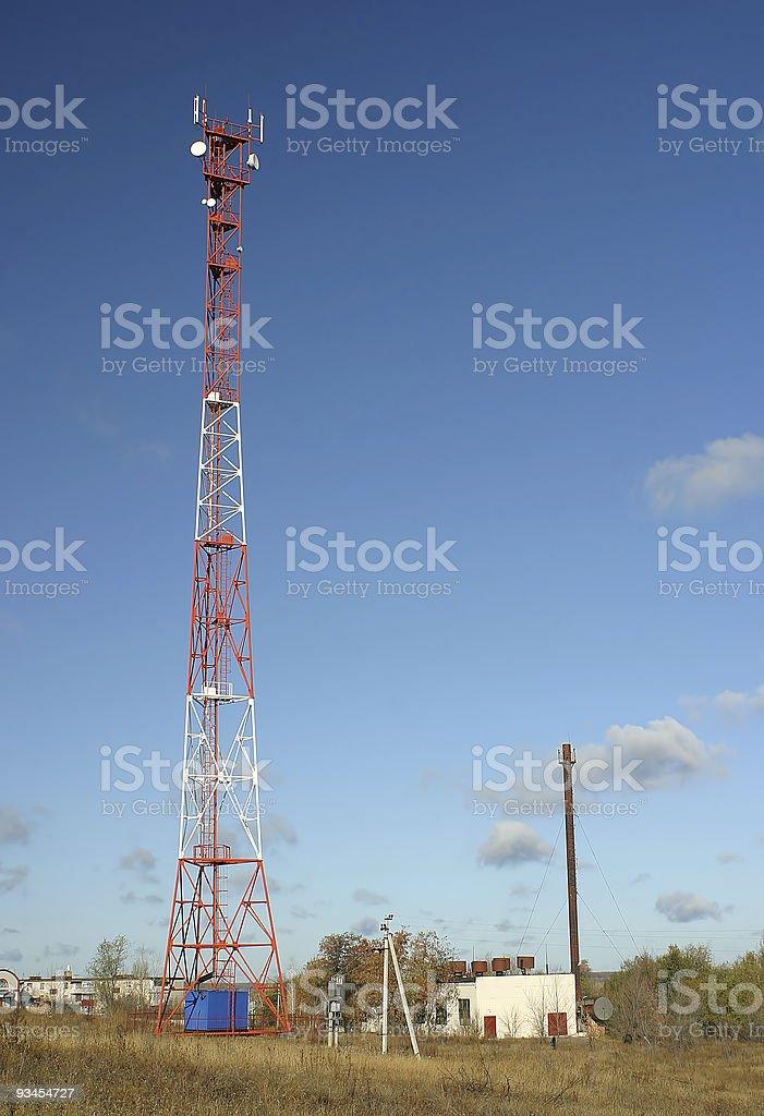 GSM-Mobiltelefon tower Lizenzfreies stock-foto