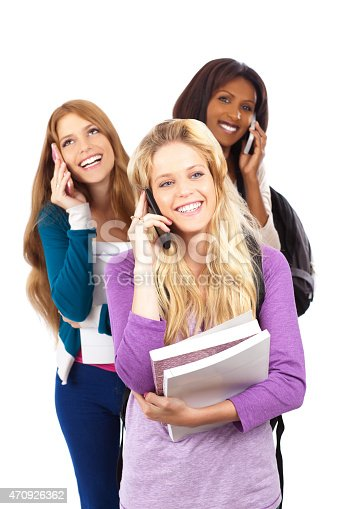 istock Cell Phones at School. 470926362