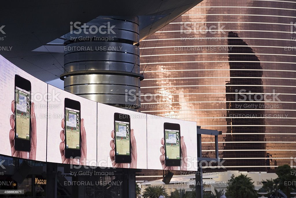 Cell Phones on Display royalty-free stock photo
