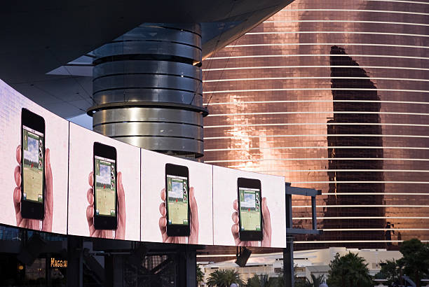 Des téléphones portables à l'affiche - Photo