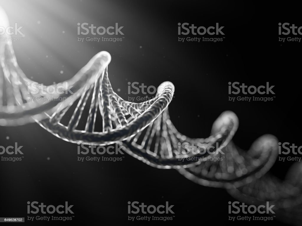 DNA cell vector art illustration