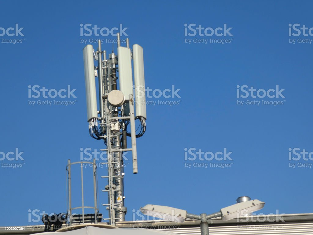 Cell site stock photo