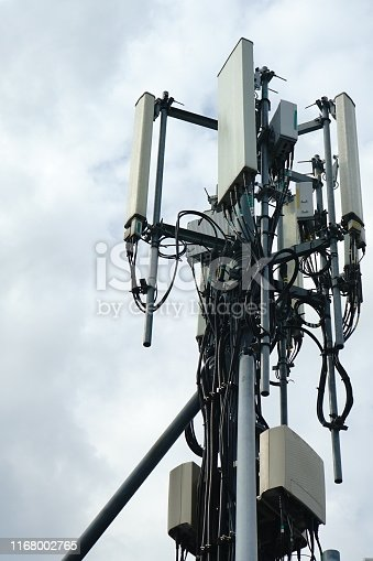 1169777785istockphoto 4G Cell site radio tower 1168002765
