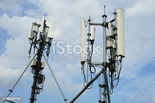 1169777785istockphoto 4G Cell site radio tower 1168002767