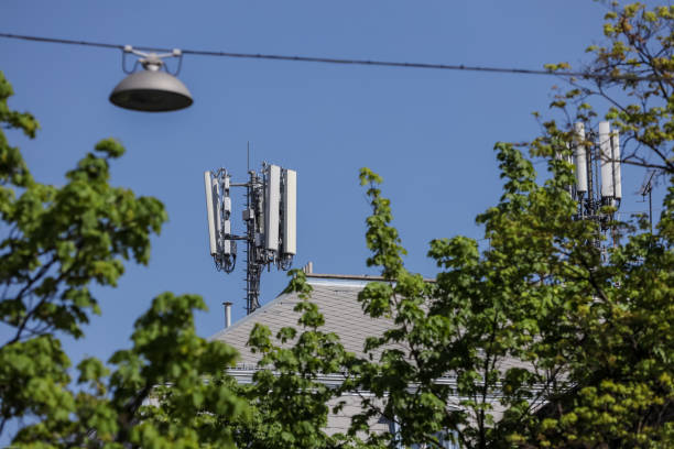 Cell sites stock photo