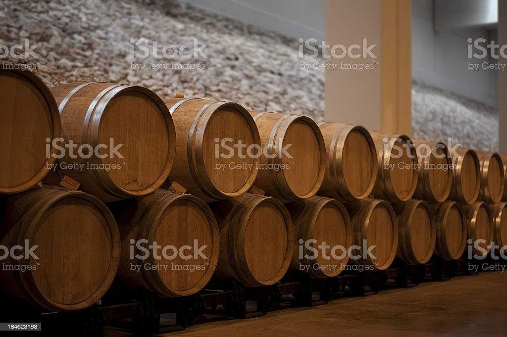 Cellar royalty-free stock photo