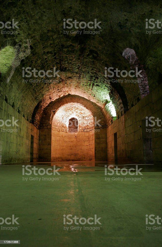 Cellars royalty-free stock photo