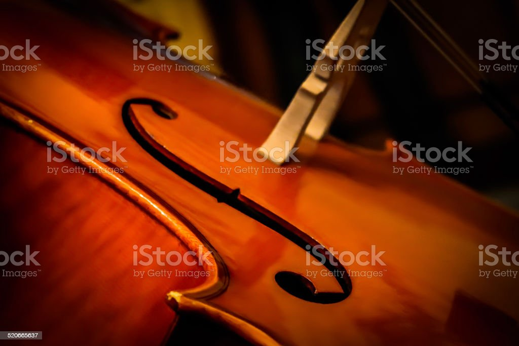 Cello Dreaming stock photo