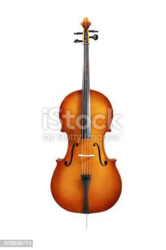 istock cello isolated on white 628606774