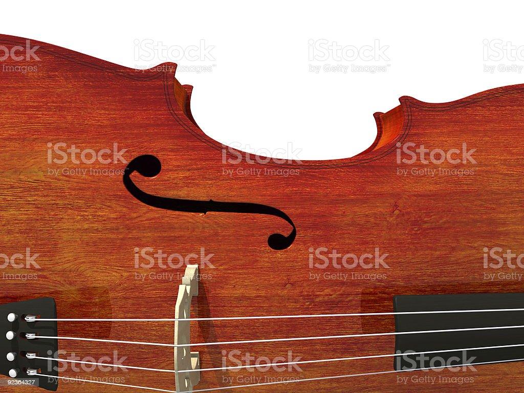 Cello, isoliert auf weiss Lizenzfreies stock-foto