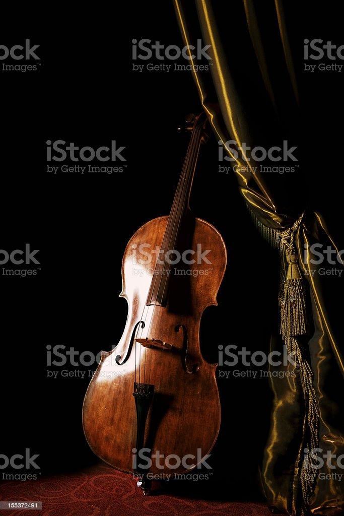 Cello royalty-free stock photo