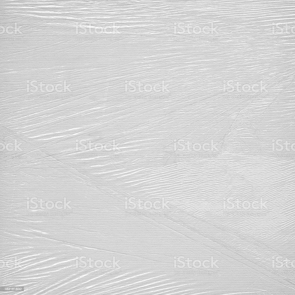 Cellophane packaging stock photo