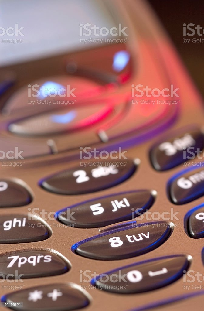 Cellphone II royalty-free stock photo