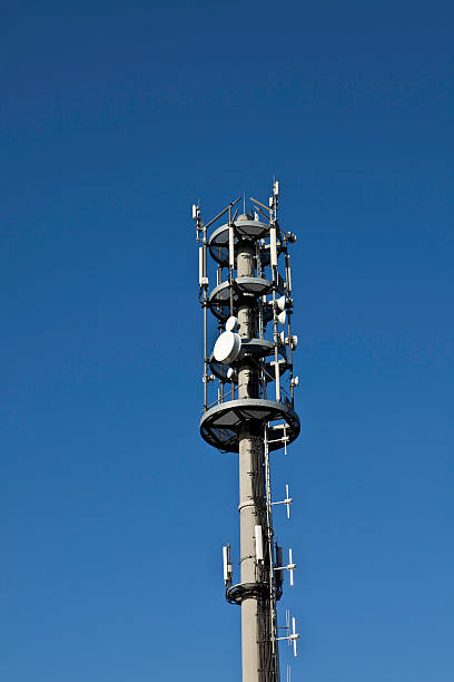 Cellphone Transmitter Tower stock photo
