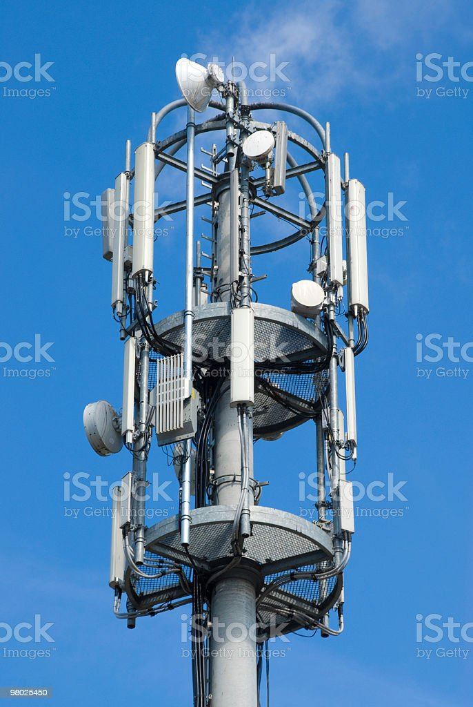Cellphone Transmitter Tower royalty-free stock photo