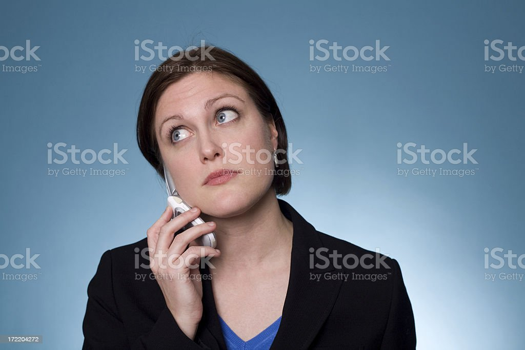 cellphone user royalty-free stock photo