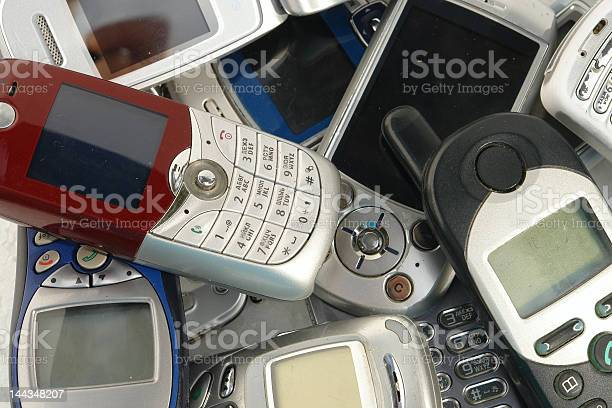 Cellphones Stock Photo - Download Image Now