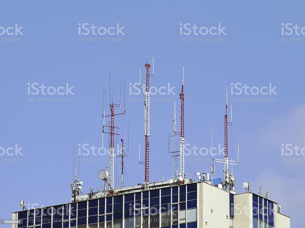 Cellular phone antenna 03 royaltyfri bildbanksbilder
