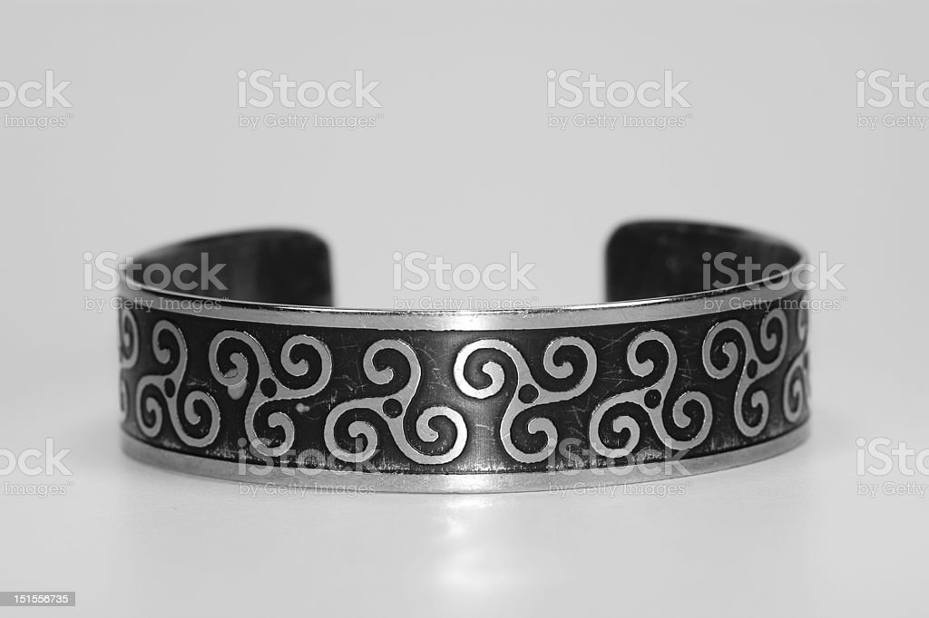 Celtic bracelet royalty-free stock photo