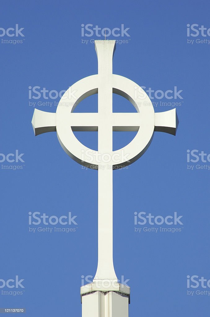 Celtic Cross 3 royalty-free stock photo