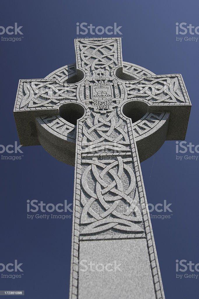 Celtic Cross III royalty-free stock photo