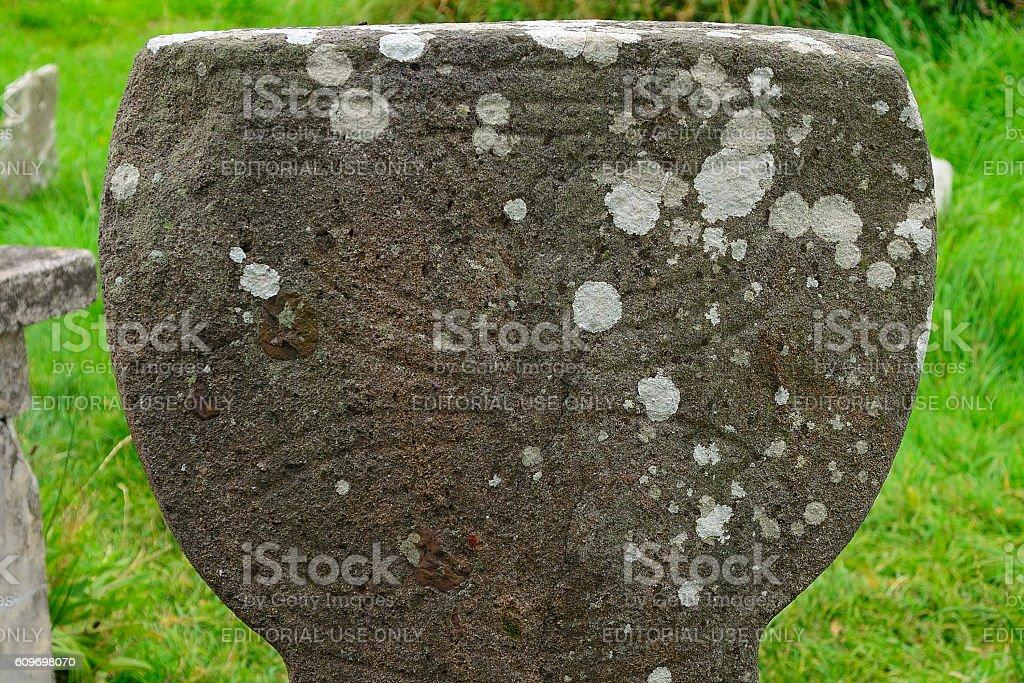 Celtic cross, Kilkalmedar, Ireland stock photo