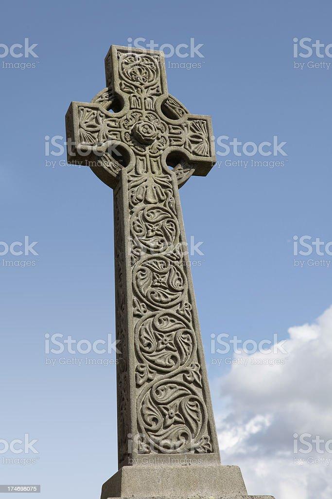 Celtic Cross stock photo