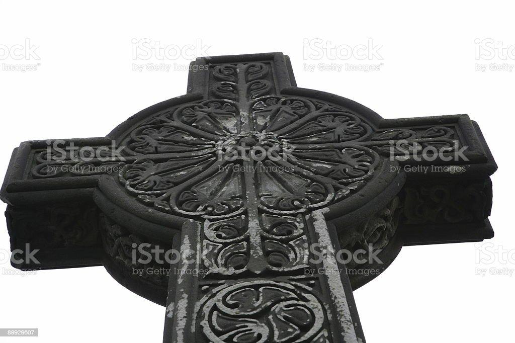 Celtic Cross royalty-free stock photo