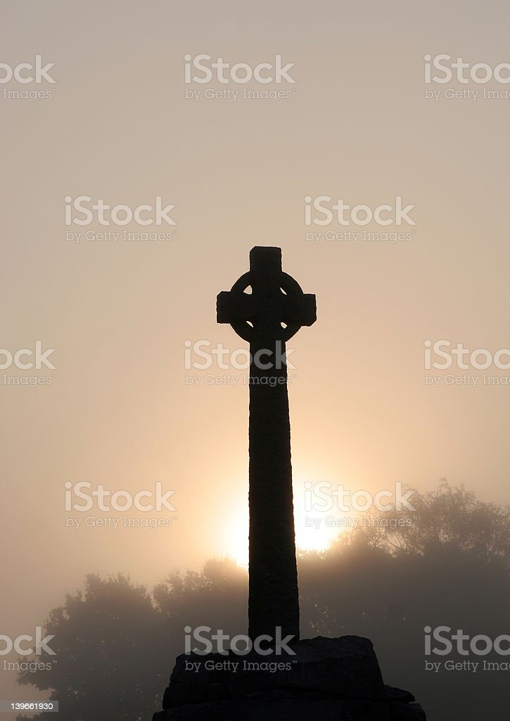 Celtic Dawn royalty-free stock photo
