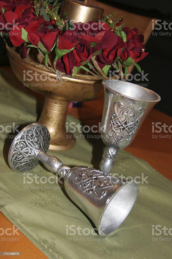 Celtic Goblets royalty-free stock photo
