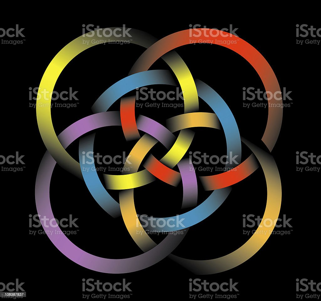 Celtic Knot stock photo