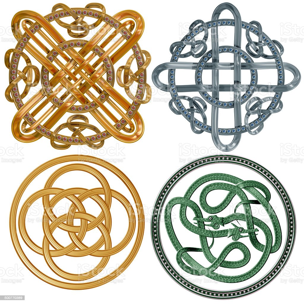Celtic Knots stock photo