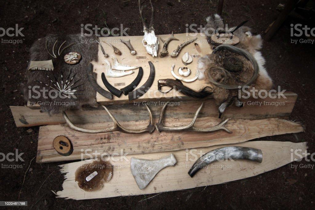 celtic natural symbols - fotografia de stock