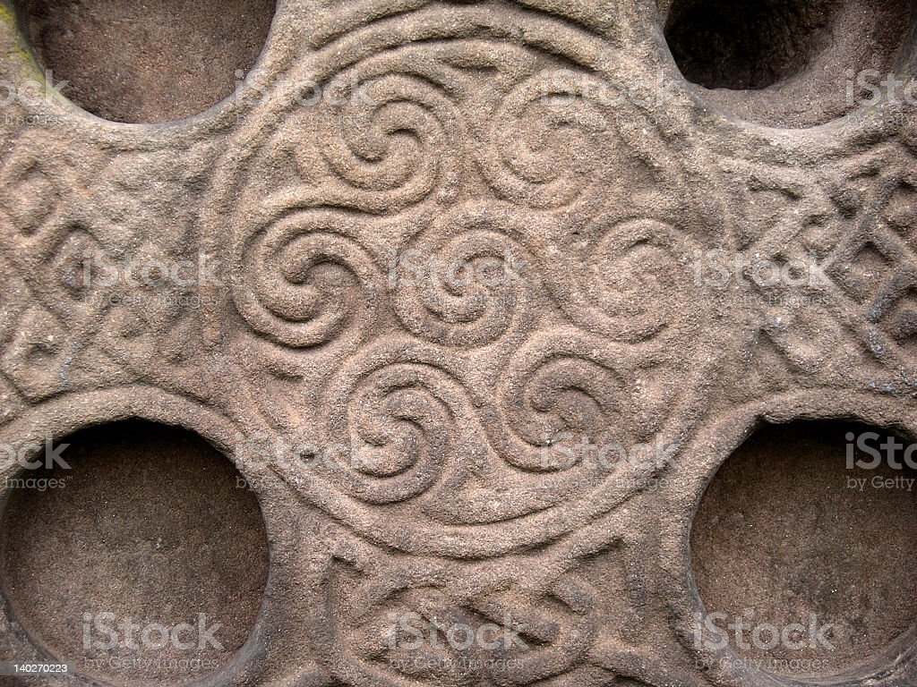 Celtic ornaments stock photo