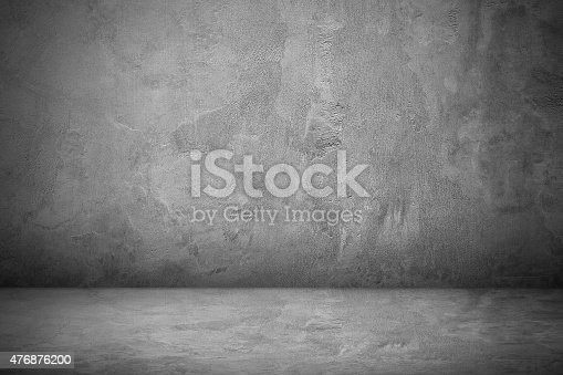 istock Cement and concrete wall and floor for pattern 476876200