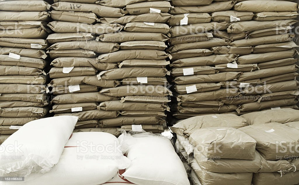 cement bags stock photo more pictures of bag istock. Black Bedroom Furniture Sets. Home Design Ideas