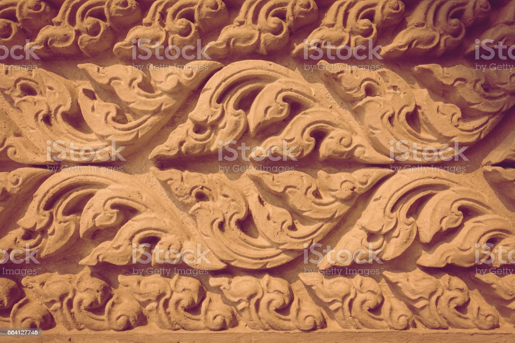 Cement craft Thailand style background foto stock royalty-free