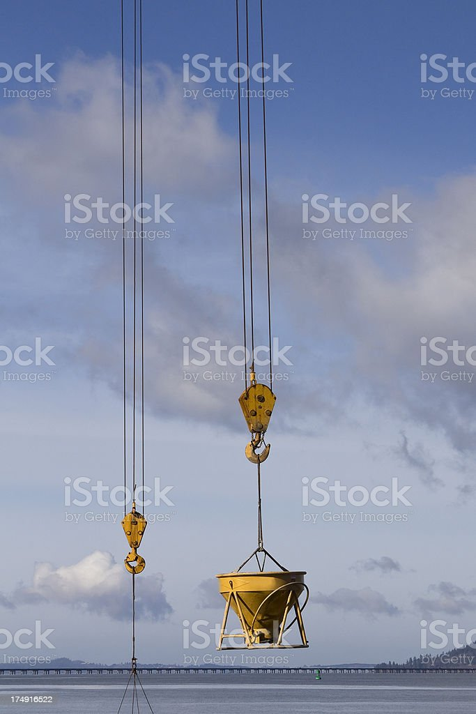 Cement Delivery royalty-free stock photo